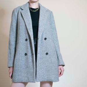 Madewell Wool Blend Blazer Coat